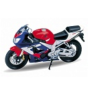 Модель 12164Р мото 1:18 MOTORCYCLE/HONDA CBR900RR FIREBLADE WELLY