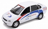 Модель 42383RY LADA Kalina Rally 1:34-39 WELLY